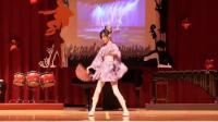 台湾小学生爱好二次元自学宅舞, 晚会表演千本樱, 舞姿超美