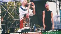 """抖音上爆红的""""舞曲""""panama原唱来成都2018热波音乐节了, 来一起跳"""