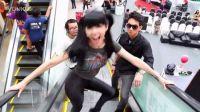 模仿Gangnam Style 搞笑美女模仿鸟叔 骑马舞 江南 !