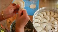 一分钟教你包出超漂亮的饺子花样, 这样做韭菜盒子特好看