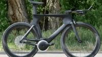 这个自行车厉害了, 没有链条, 带有21个轴承, 骑起来省力一半