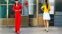 广场舞2人版《谁说女子不如男》非常简单!