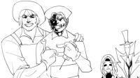 第五人格漫画, 暴力拆椅! 园丁这电动马达腰, 你心动了吗?