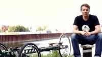 超奇葩的自行车, 骑一圈下来就像是做运动, 燃烧你的卡路里