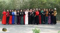 紫竹院广场舞——芦花美,春晚老师来现场录制视频