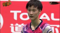 2019羽毛球苏迪曼杯决赛中国VS日本第二场女单-陈雨菲2-1山口茜
