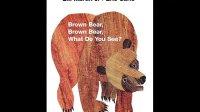 英文绘本 Brown Bear Brown Bear What Do You See