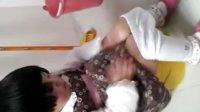 全世界最可爱的小孩--阿命蹲马桶的故事