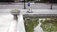 宝蒂兰X7便携折叠自行车 淑女自行车 儿童休闲车