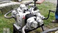 修复二战德国军用摩托Zundapp KS750撒哈拉引擎(68年第一次启动)
