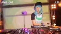 DJ舞曲 夜店酒吧现场美女打碟club DJ黑毛提供
