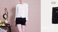 黑色短裤的搭配法 刷爆造型的时尚穿搭 ——安歌广告