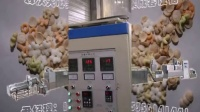 休闲小食品夹心米果成套生产设备视频