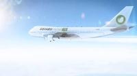 飞机飞行动画AE模板 民航客机天空飞行模板