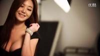 乳神级韩国大胸美女写真拍摄现场