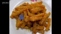【大爱美食】蛋黄焗南瓜的做法视频
