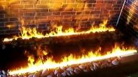 澳门葡京赌场、银河赌场、威尼斯人赌场欧式电壁炉仿真伏羲篝火
