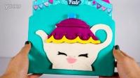 购物小能手 第3季 购物车 面包店 蛋糕 玩具 橡皮泥 蛋惊喜 Shopkins Cupcake Collection Playset - Food Fair