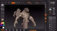 【ZBrush雕刻】结合Maya制作风格化怪物流程教学-01-Introduction