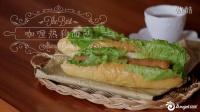 烘焙时光:咖喱热狗面包