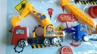 挖土机 汽车总动员 工程汽车玩具小游戏