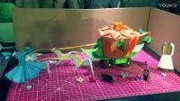 原创纸艺-灰姑娘的南瓜马车 Creative origami- Cinderella pumpkin carriage