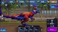 侏罗纪世界游戏第274期 犹他盗龙 迅猛龙 5星 长臂猎龙★恐龙玩具公园