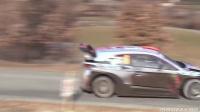 直到最后的疯狂高速飞行完成在 WRC 2017 拉力赛蒙特卡罗推 !