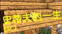 【Minecraft我的世界】趣味动画《史蒂夫的一生1》~焰不熄搬运