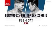 """UFC格斗之夜休斯顿站 """"韩国僵尸""""陈宋俊"""