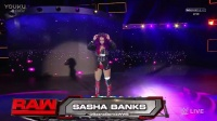 WWE RAW 2017.01.30 Sasha Banks vs Nia Jax (Rematch)