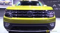 大众7座SUV大众Atlas  VR6发动机 4MOTION四驱系统。