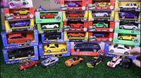 开启30款新的小型玩具车,视频为男孩儿, 儿童音乐,