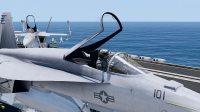 美航母舰载机紧急出动 游戏模拟战地拍摄  武装突袭3