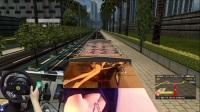 ETS2 欧洲卡车模拟2仓栏货柜奔驰卡车+全挂车美女货柜 大功率发动机 海南海口—北京 中国地图 娱乐 T300RS