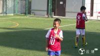 5场22球,中国8岁足球新星参加社区联赛引球探围观