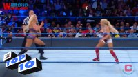 【去健身】10个 击倒集锦 WWE TOP 10 SmackDown LIVE M