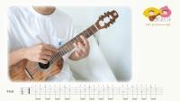 Summer 菊次郎的夏天 尤克里里指弹教学【桃子鱼仔ukulele教室】