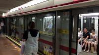 上海地铁1号线 01A03伪八 133号车 上海火车站出站