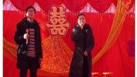山西乡宁县关王庙本土农民与美女演唱的一首《兰花花》,让热闹的婚礼推上高潮