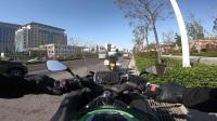 泰安2018年4月6日骑行活动Ninja650视角