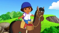 09 DORA AND SPARKY~S RIDING ADVENTURE