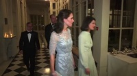 全娱乐早扒点 2017 3月 威廉夫妇法国出席晚宴 凯特一身仙裙优雅亮相 170320 欧美交换夫妇magnet