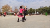 广场交谊舞 双人舞对跳 恰恰舞《十八的姑娘一朵花》 义乌江湾