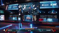 Gambit vs North DreamHack公开赛 图尔站 BO3 第三场 5.21