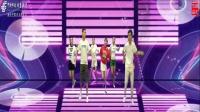 创意劲舞C哩C哩3.15比1舞台大屏幕背景视频(文件为16比9版)