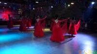 女子团体,华尔兹舞表演CCDC乾庄老队叶姐俱乐部吉舞代表处教师培训基地庆典,李辉摄制