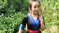 苗族美女老挝Saib hluas nkauj mus txiav kav tsa