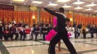 营口金玲拉丁舞于盘锦小青年2018盘锦首届吉特巴艺术节上的恰恰舞吉特巴舞表演3
