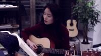 大竹长江琴行-成人班-美女吉他弹唱-《那些花儿》